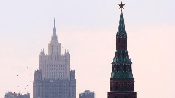 Поглед на Кремљ и Министарство спољних послова Русије - Sputnik Србија