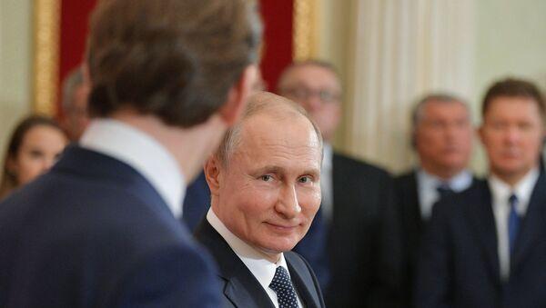 Sebastijan Kurc i Vladimir Putin - Sputnik Srbija