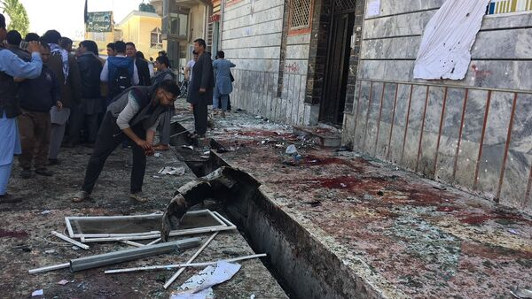 Бомбашки напад у Кабулу 22. априла 2018. - Sputnik Србија