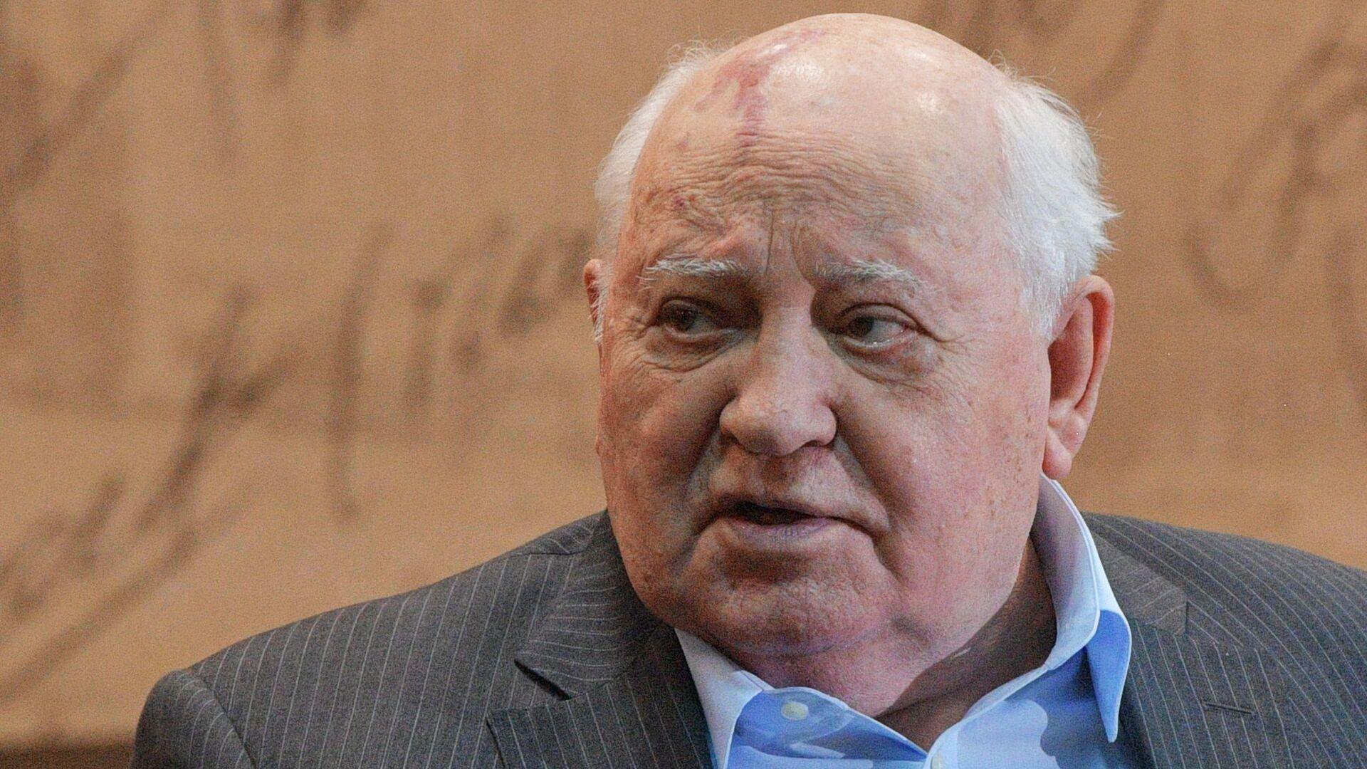 Bivši predsednik SSSR-a Mihail Gorbačov - Sputnik Srbija, 1920, 08.10.2021