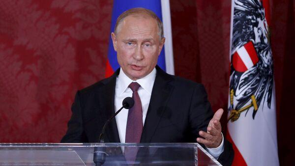 Председник Русије Владимир Путин у посети Аустрији - Sputnik Србија