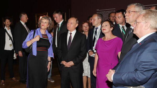 Руски председник Владимир Путин у посети Аустрији - Sputnik Србија