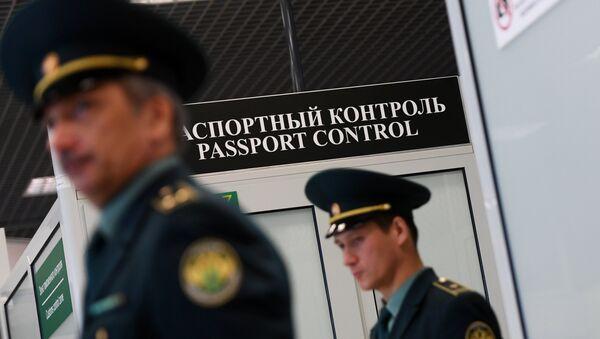 Pasoška kontrola međunarodnog aerodroma Kazanj - Sputnik Srbija