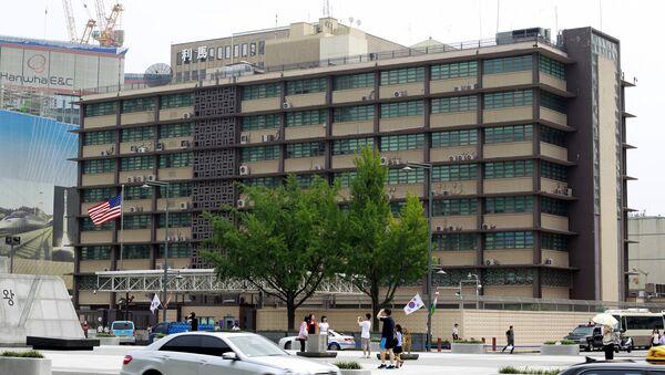 Амбасада САД у Сеулу - Sputnik Србија
