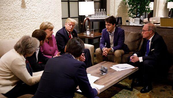 Лидери земаља Г7 на самиту у Квебеку - Sputnik Србија