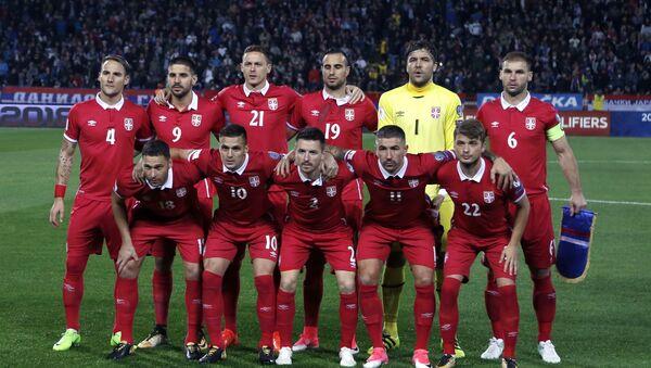 Репрезентација Србије на пријатељском мечу са Боливијом - Sputnik Србија