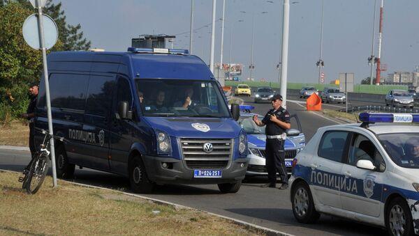 Полиција на блокади пута због цена горива - Sputnik Србија