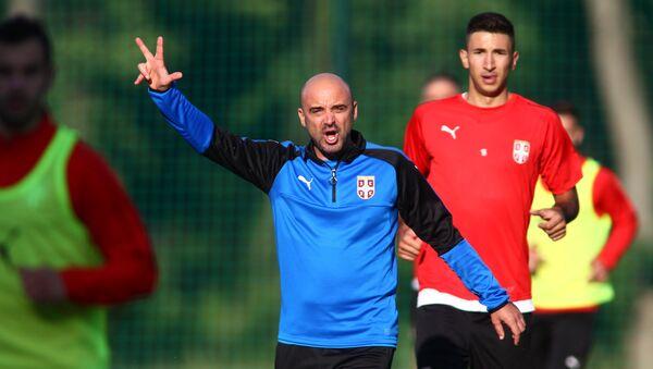 Trener Srbije Milan Rastevac - Sputnik Srbija