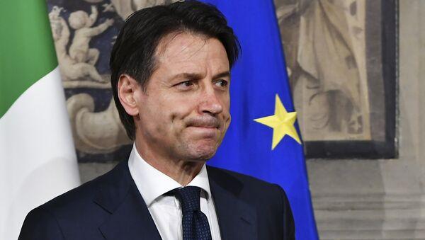 Premijer Italije Đuzepe Konte - Sputnik Srbija