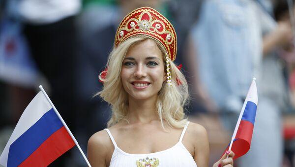 Ruska navijačica - Sputnik Srbija