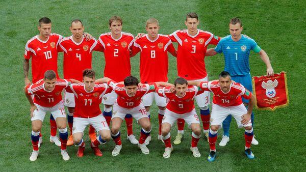 Репрезентација Русије на отварању Мундијала - Sputnik Србија