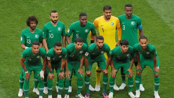 Репрезентација Саудијске Арабије на отварању Мундијала - Sputnik Србија