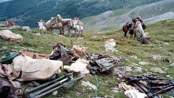 Оружје на Кошарама 1998. године - Sputnik Србија