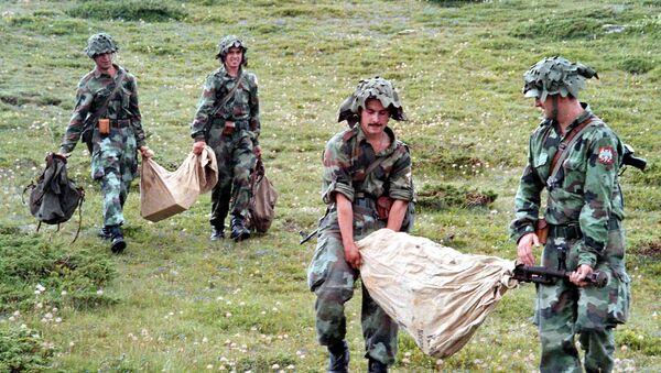 Војници војске Југославије на Кошарама 1998 - Sputnik Србија