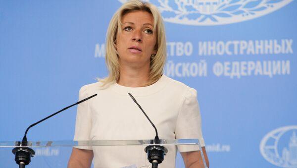 Portparolka Ministarstva inostranih poslova Rusije Marja Zaharova - Sputnik Srbija