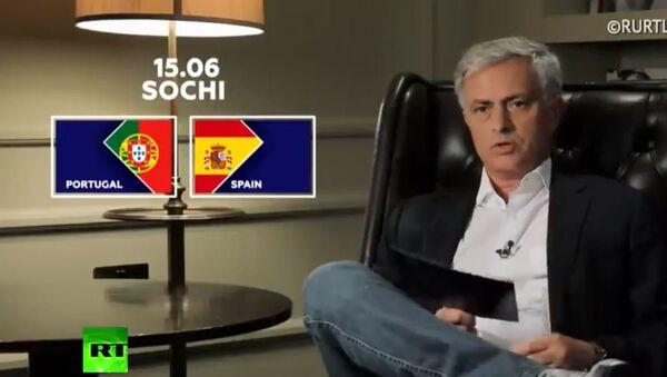 Жозе Морињо прогнозира резултат утакмице Шпанија - Португалија - Sputnik Србија