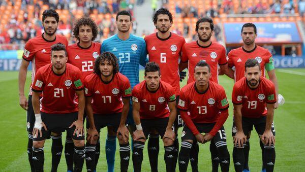 Startna postavka Egipta na utakmici protiv Urugvaja - Sputnik Srbija