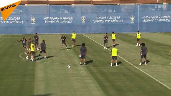Тренинг Бразила у Сочију - Sputnik Србија