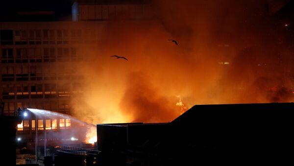 Пожар на универзитету у Глазгову - Sputnik Србија