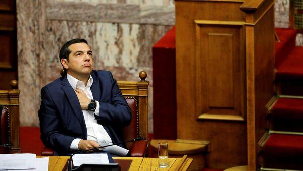 Грчки премијер Алексис Ципрас - Sputnik Србија