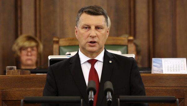 Летонски председник Рајмонд Вејонис - Sputnik Србија