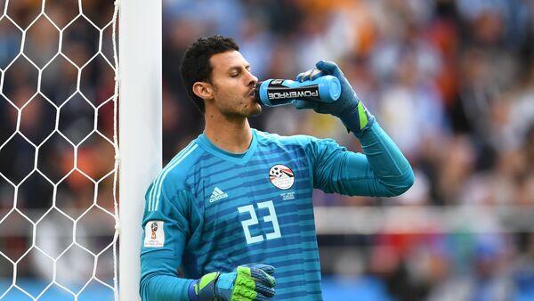 Golman Egipta Muhamed el Šenavi tokom meča protiv reprezentacije Urugvaja - Sputnik Srbija