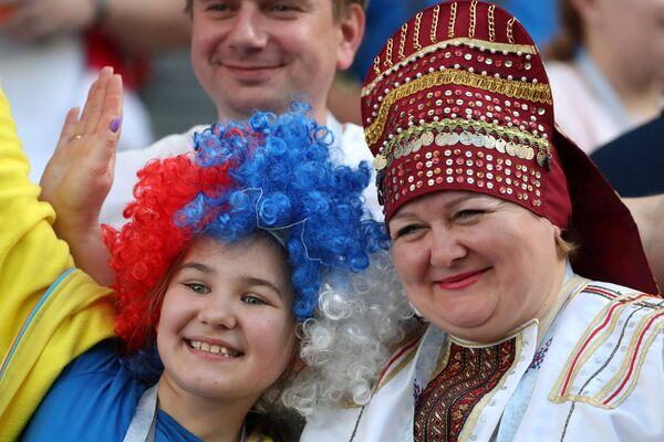 Навијачи на утакмици између Србије и Костарике - Sputnik Србија