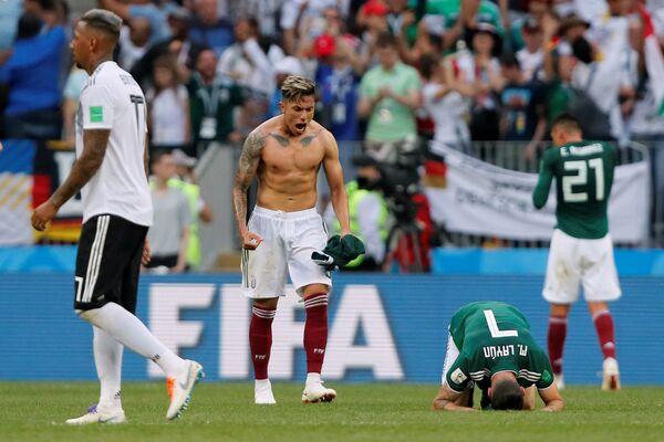 Играчи Мексика славе победу над Немачком - Sputnik Србија