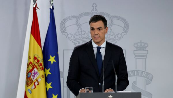 Španski premijer Pedro Sančez - Sputnik Srbija
