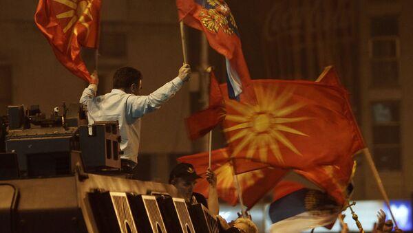 Demonstracije u Skoplju zbog imena države - Sputnik Srbija