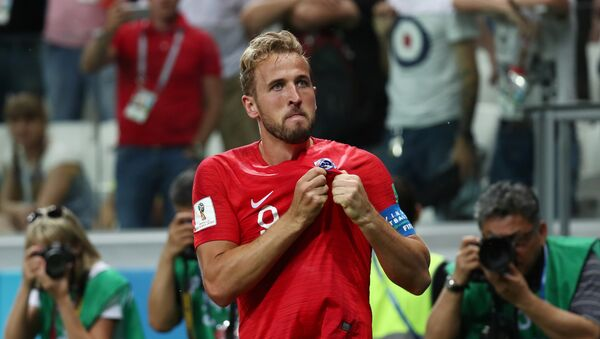 Hari Kejn slavi pobedu nad Tunisom - Sputnik Srbija