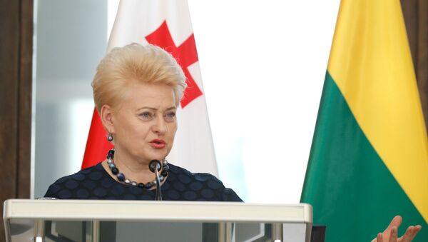 Predsednica Litvanije Dalija Gribauskajte - Sputnik Srbija
