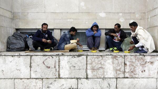 Мигранти у Сарајеву - Sputnik Србија