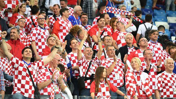 Хрвати славе велику победу - Sputnik Србија