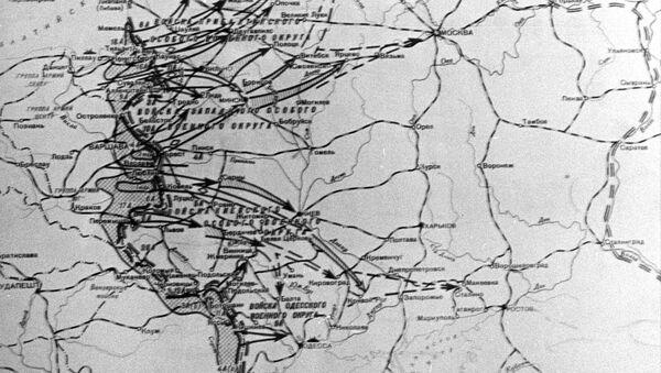 Мапа операције Барбароса - Sputnik Србија