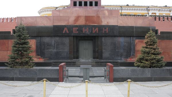 Mauzolej Vladimira Iljiča Lenjina na Crvenom trgu u Moskvi - Sputnik Srbija