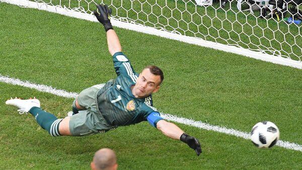 Akinfejev je bio nemoćan posle šuta Suareza - Sputnik Srbija