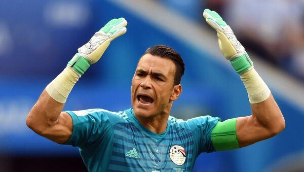 Golman egipatske reprezentacije Esam El Hadari na Svetskom prvenstvu u fudbalu - Sputnik Srbija