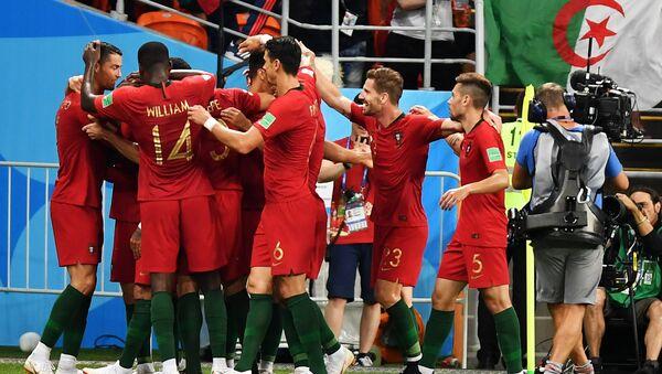 Португалци прослављају гол Кварежме - Sputnik Србија