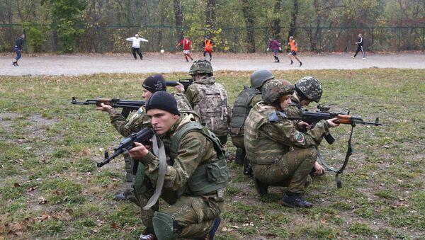 Vojne vežbe ukrajinske vojske - Sputnik Srbija