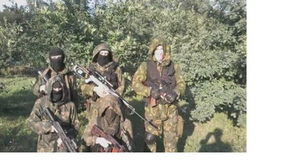 "Извиђачка група батаљона ""Азов"", Доњецка област. - Sputnik Србија"
