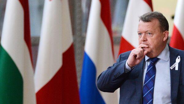 Премијер Данске Ларс Локе Расмусен - Sputnik Србија