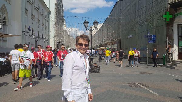 Dragan Bjelogrlić u Moskvi / - Sputnik Srbija