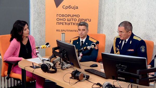 Чланови Ансамбла Александров у Спутњику - Sputnik Србија