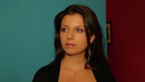 Glavni urednik RT i Sputnjik Margarita Simonjanargarita Simonьяn - Sputnik Srbija