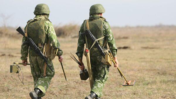 Руски војници у Сирији - Sputnik Србија