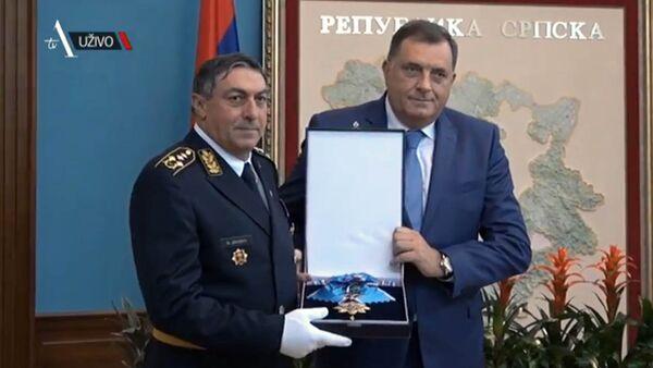 Љубиша Диковић и Милорад Додик - Sputnik Србија