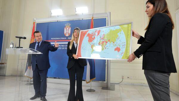 Mapa država koje nisu priznale Kosovo - Sputnik Srbija