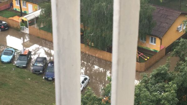 Poplavljeno obdanište na Dorćolu - Sputnik Srbija