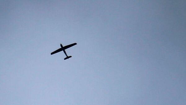 Bespilotna letelica leti iznad Istočne Gute u Siriji - Sputnik Srbija